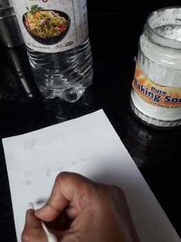writing a secret message