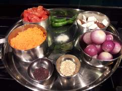 ingredients for the chutney